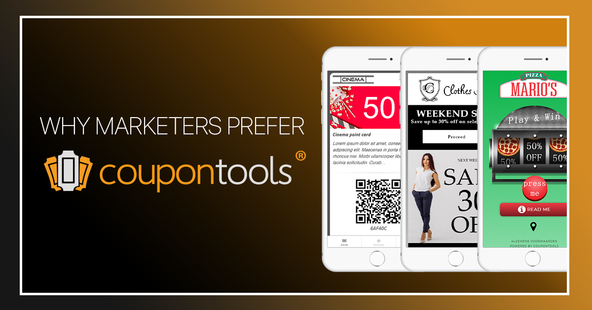 10 reasons why Coupontools is your preferred partner for mobile couponing