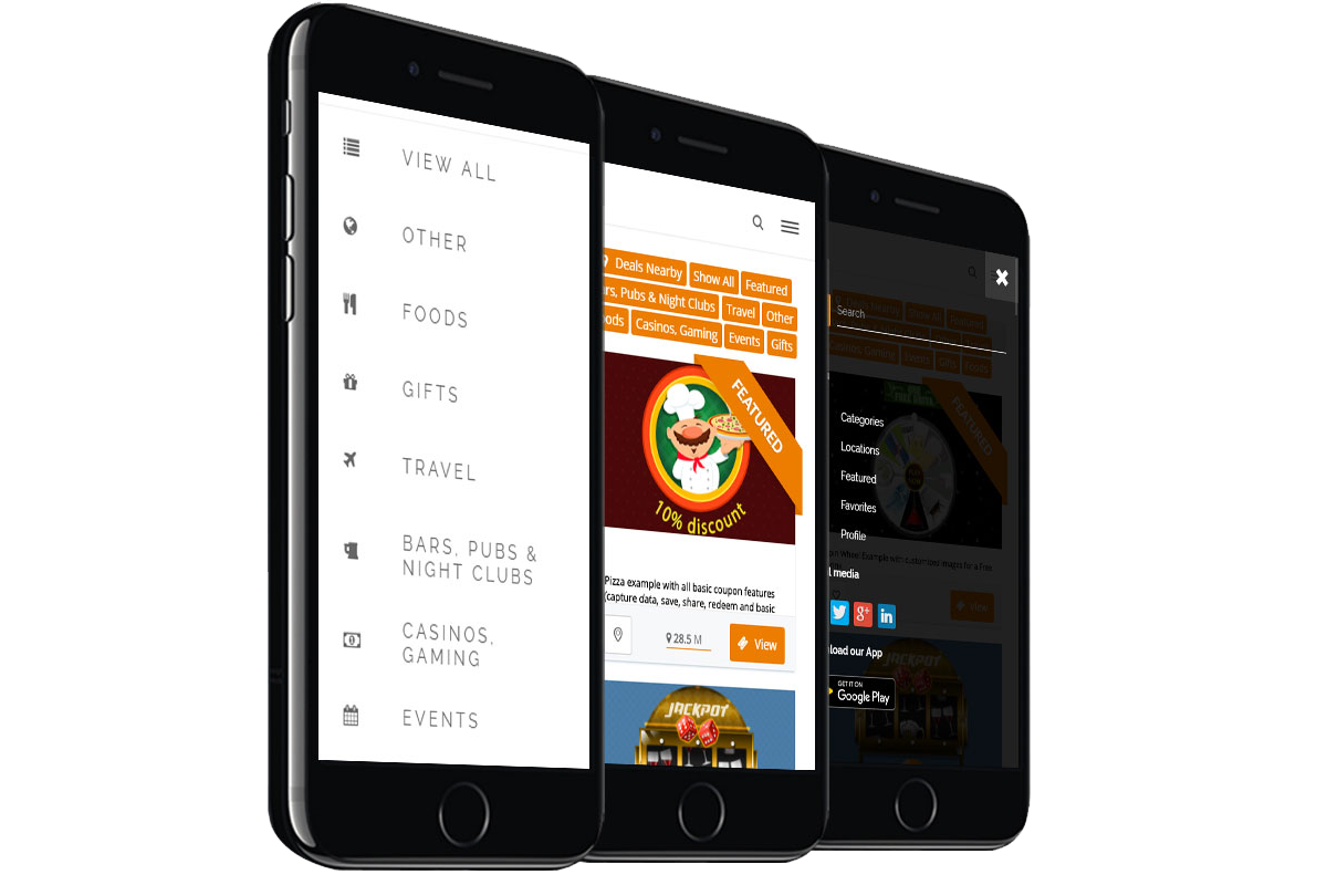 A Mobile Coupon Directory for your City Marketing