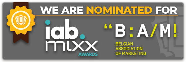 Nominated for IAB MIXX Awards