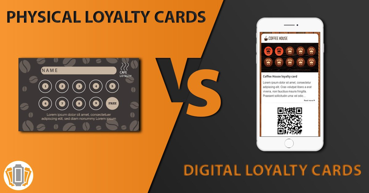 Digital Loyalty Cards vs Physical Loyalty Cards