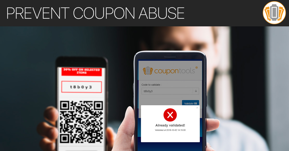 How to prevent Mobile Coupon fraud and Coupon abuse